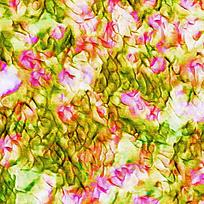 粉红色绿色交叉渲染图