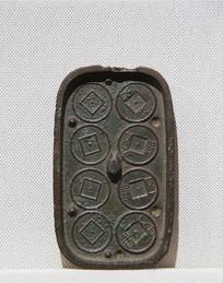 古钱币汉代五铢钱钱范