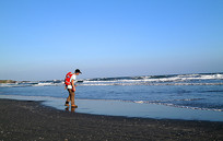 海边的浪花