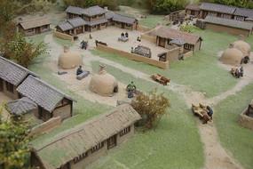 汉代民居模型