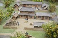 汉代农家院模型