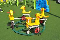 户外玩具多人儿童自行车