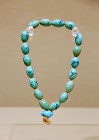绿松石珠串