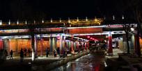 美丽的丽江夜景
