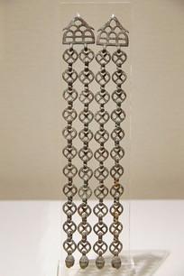 明代链式铜坠饰