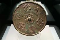 唐代铜镜宝相花纹葵花纹镜