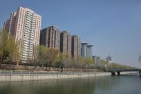 北京南二环民居高楼