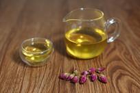 玻璃茶壶茶盅
