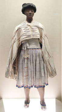 贵州赫章苗族毛织女盛装