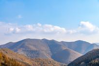 秋季的群山