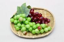 水果篮塑料葡萄串
