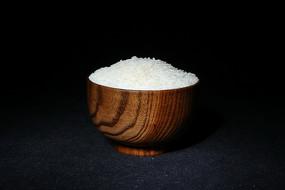 一木碗白大米