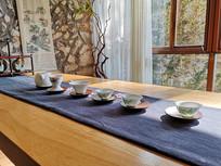 中国风格国韵茶杯