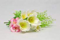 塑料干花和红花朵