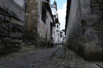 小镇石板路