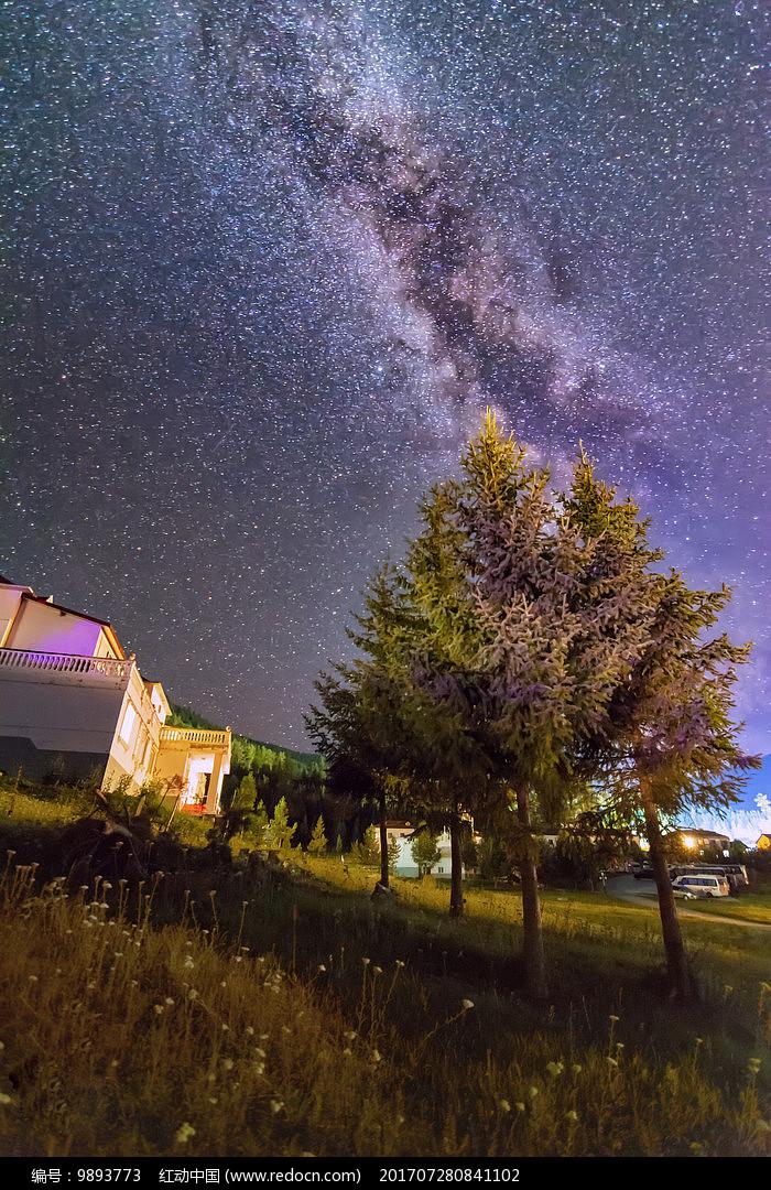 璀璨星空图片