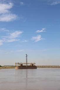 黄河水利闸口