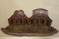 清代彝族彩绘漆皮甲