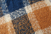 格子针织布料
