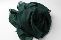 墨绿色围巾素材