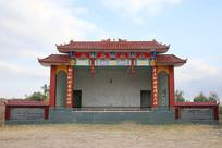 农村戏台社戏台