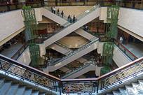 上海博物馆场馆内景格局