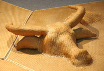 竹篾艺术牛头