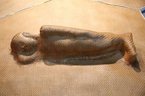 竹篾艺术人体