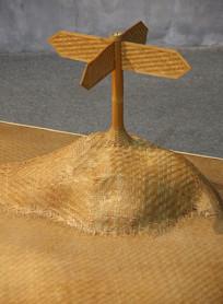 竹篾艺术指示牌