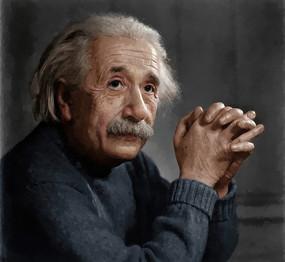 阿尔伯特·爱因斯坦油画