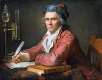 安托万洛朗·拉瓦锡油画