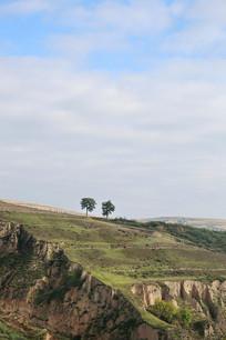 高原地貌黄土高原