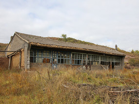 农村危房废弃的房屋