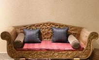 非洲木雕沙发