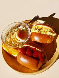 日本料理早餐