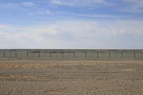戈壁砂石滩
