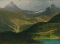比尔施塔特油画-山地景观