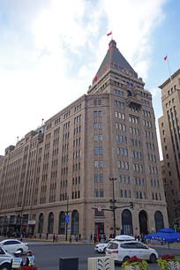上海市外滩的美国花旗银行