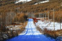 林海雪原冰雪公路