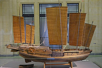 上海沙船模型