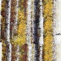抽象树木树干油画