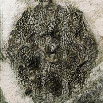纹理背景复古水墨图形
