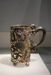 1904年上海工部局银奖杯