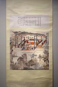 光绪庚辰年豫园宴乐图