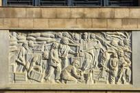 济南战役浮雕