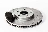 一个刹车盘和刹车片