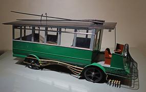 1914年上海无轨电车模型