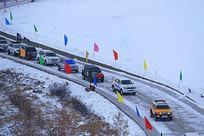 冰雪赛道越野车
