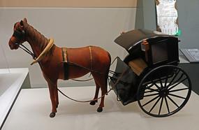 民国亨斯美马车模型
