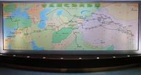 古丝绸之路线路图